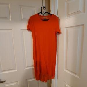 Zara high low dress
